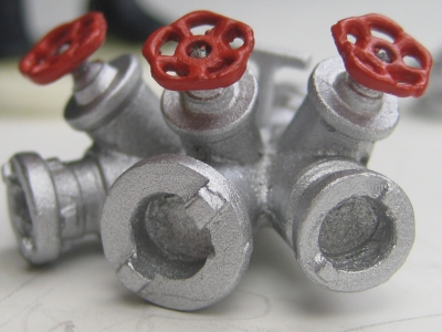 86522 B - Unbemalter Bausatz - Verteiler