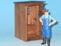 40903 - Toilettenhäuschen - Plumpsklosett