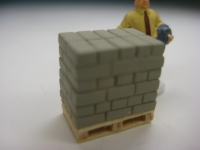 DUHA 11503 - 1 Palette mit Betonhohlsteinen (Spur H0)