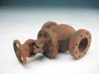 DUHA 11233 F - Rostiges Ventil mit Schieber (Spur H0)