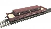 DUHA 11564 G - Rostige Schienen auf Holzträgern