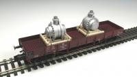 DUHA 11568 - 2 x Getriebe auf Palette verspannt