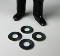 LGB Ersatzteile - 4 Beilagscheiben klein