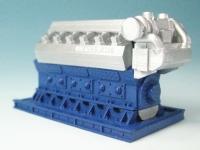 DUHA 11557 - Dieselmotor (Spur H0)