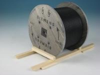DUHA 15263 A - Siemens Kabeltrommel aus gealtertem Holz (Spur I)