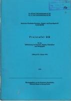 DB/DR - Preistafel DR - 1993