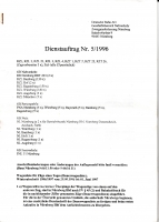 Nürnberg - Dienstauftrag Nr. 5 / 1996