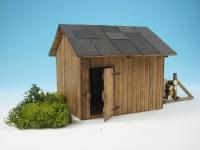 44959 - Hütte mit Holz