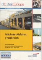 Rail Europe - Autoreisezüge ab Deutschland, ... 2000
