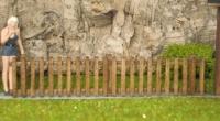 44954 - Holzzaun 99 mm lang (Spur 0)