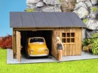 44928 - Hütte/Schuppen mit 2-flügeligem Tor