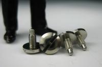 LGB Ersatzteil - Radschrauben(4), Linsenkopfschrauben für alte Lokräder