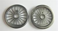 Fleischmann Ersatzteil - 2 Räder für Dampflok Ø 20,0 mm (57)