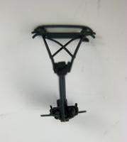 Einholmstromabnehmer hellgrau mit kurzem Schleifer