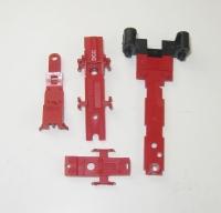 Rahmenteil mit Zylinder und 3 Deckplatten für Lok 7166, BR38