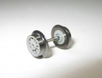 Fleischmann N - Radsatz T18 für Loks der BR78 (grau)