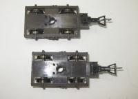 2 x Drehgestell für Fleischmann H0 Fernschnellzugwagen 5160     (4)