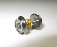 Fleischmann N - Radsatz mit Vollscheibenrädern Ø 8,30 mm