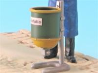 85481 B - Bausatz für Abfallkorb, Standabfallkorb, geschlossene Ausführung