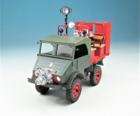 Bausatz Unimog Boehringer mit Metz Feuerwehraufsatz