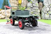 Bausatz Unimog Boehringer Agrar mit Mähwerk und Ackerschiene