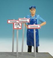 86511 F - Hinweistafeln  für Feuerwehr (Spur II)