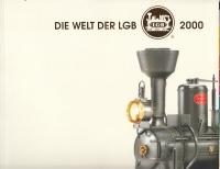 Katalog LGB 2000 mit Neuheitenblatt, Preisliste und Bauteil-Prospekt