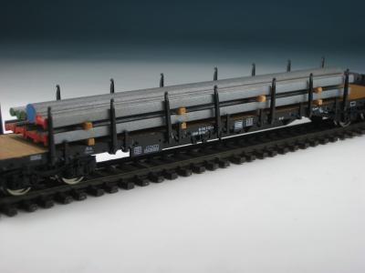 DUHA 11426 - Stahlprofile auf Holzträgern (Spur H0)