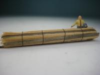 DUHA 11498 - 1 Bund Schwartenbretter 69 mm lang (Spur H0)