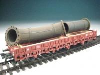 DUHA 11402 - Rostige Rohre mit Flansch (Spur H0)