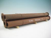 DUHA 11405 A - 5 Rohre mit Flansch