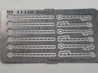 DUHA 11440 - 6 Sicherungsketten für Ladegut mit