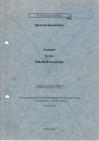 Preistafel Bahnbuslinienverkehr - Deutsche Bundesbahn - 1981