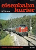 Eisenbahn Kurier 3/78 (AN 34)