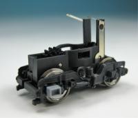 Drehgestellblock m. Rahmen & Rädern, schwarz für Lok 7260