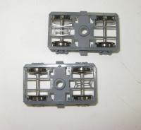 2 x Drehgestell für Fleischmann H0 Schnellzugwagen 5138