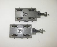 2 x Drehgestell für Fleischmann H0 Schnellzugwagen 5103