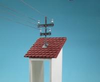 89308 - Strom-Dachständer mit 1 kurzen und 1 langen Traverse