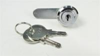 Briefkastenschloss, Möbelschloss mit 2 Schlüsseln