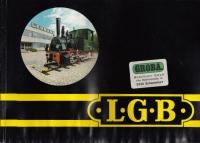 LGB Katalog 1979, LGB Werbeblatt 69/71, LGB Messeneuheiten 1976