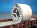DUHA 12362 A - Abgedeckte Metallkabeltrommel (Spur TT)